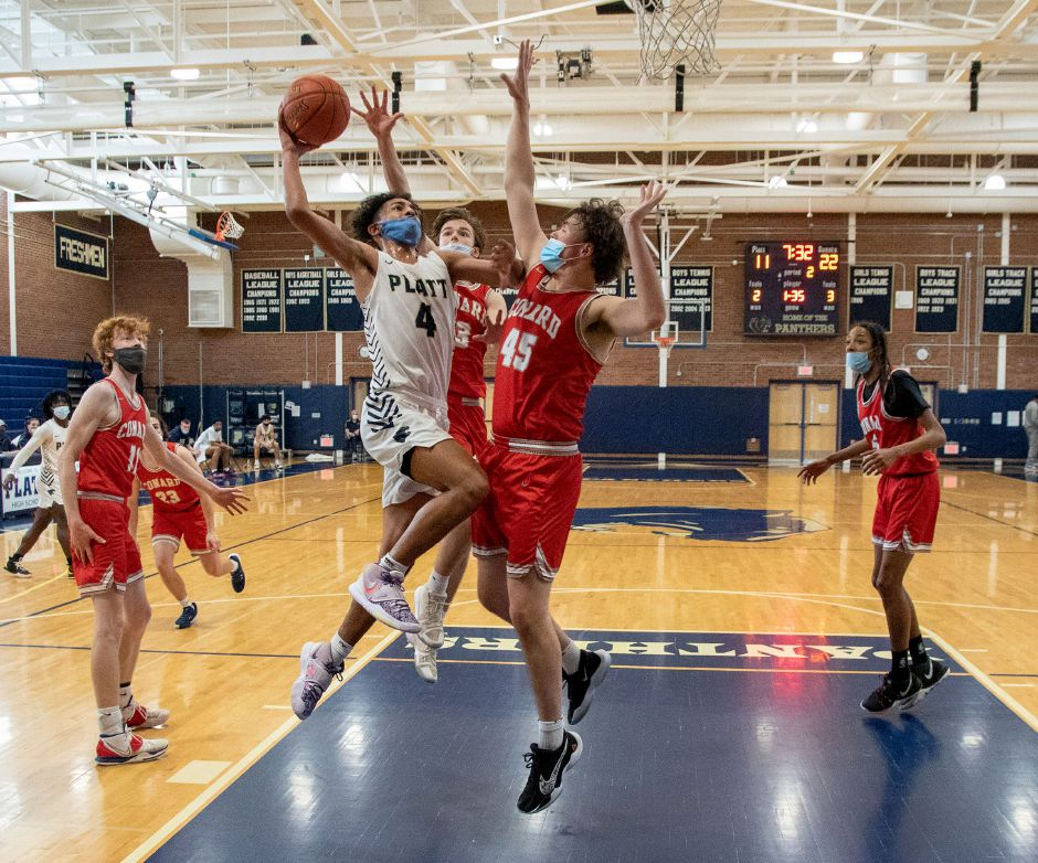 Building on a substantial freshman season, Platt's Anthony Nimani became team leader this year as a sophomore. Nimani has an all-around game. He averaged 16.85 points, 7.0 rebounds, 6.0 assists and 2.5 steals this season. Aaron Flaum, Record-Journal