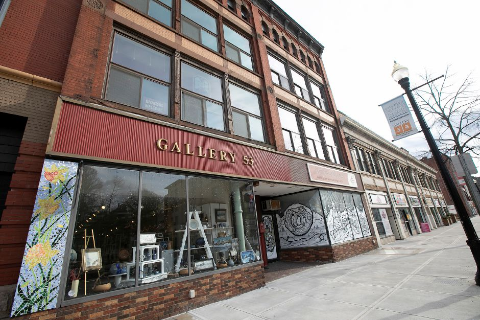 Gallery 53 on Colony Street in Meriden, Thurs., Feb. 20, 2020. Dave Zajac, Record-Journal