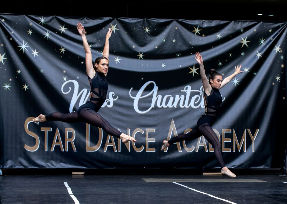 Dancers with Miss Chantel's Star Dance Academy perform in the academy's second recital at Hubbard Park on Sunday, Sept. 13, 2020. Children as young as 18 months performed in dances specially designed to be safe during the coronavirus pandemic.