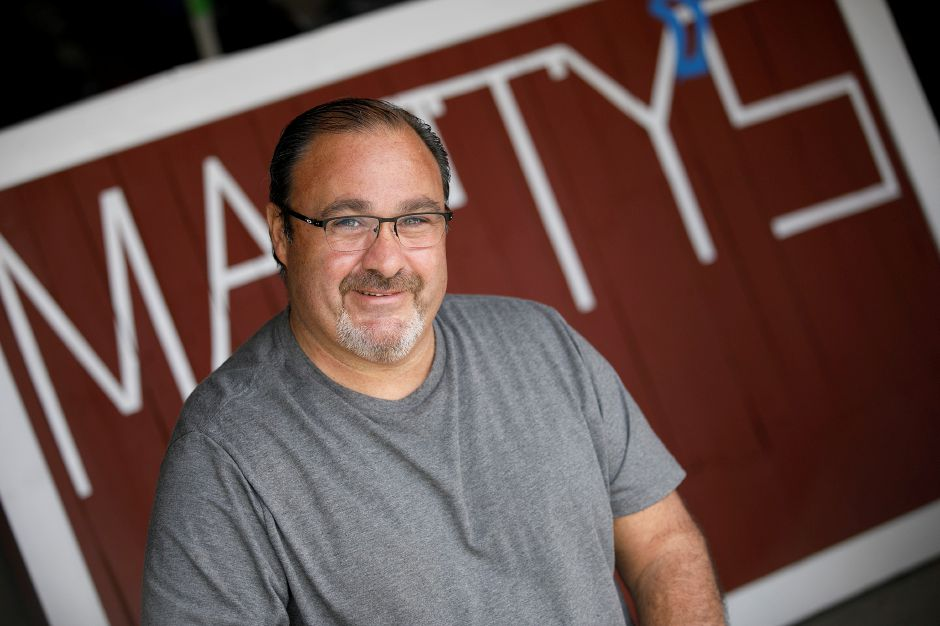Marty DiVito, of Wolcott, owner of Marty's food truck.
