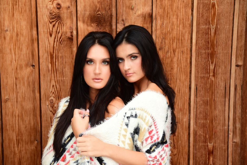 Country duo Presley & Taylor, who are sisters from Middlefield, are returning to the Durham Fair, playing the CT Grown Entertainment stage on Sunday, Sept. 29, 2019. | Contributed by Mercy City Music