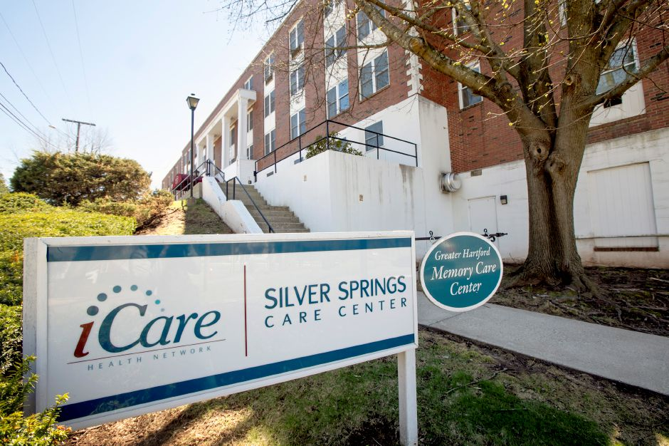 Silver Springs Care Center, 33 Roy St., Meriden, Tues., Apr. 16, 2019. Dave Zajac, Record-Journal