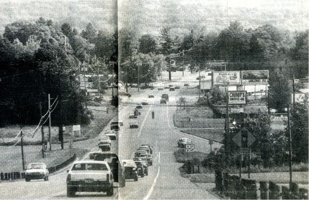 "September 1994: Wallingford residents worried that Route 5 had ""reached a saturation point,"" according to a Record-Journal story. 