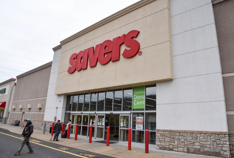 Savers, 495 Chamberlain Highway in Meriden, pictured on Thursday. The thrift store is set to close on Saturday.