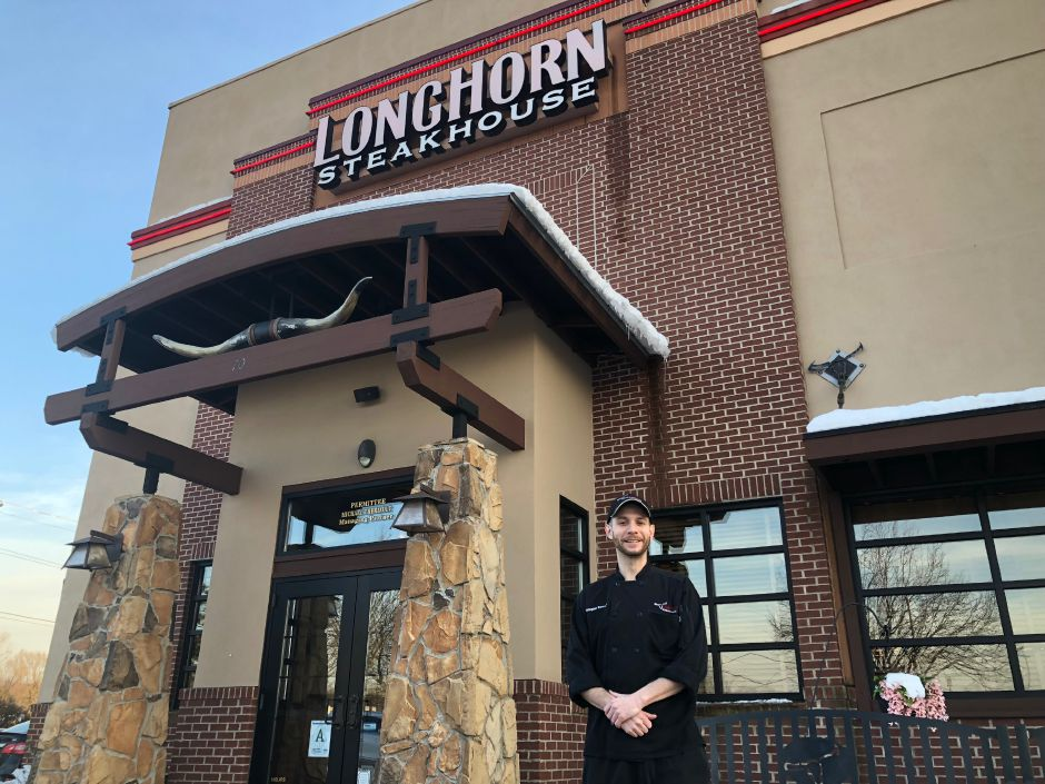 North Haven LongHorn Steakhouse Grill Master Christopher Bowman.