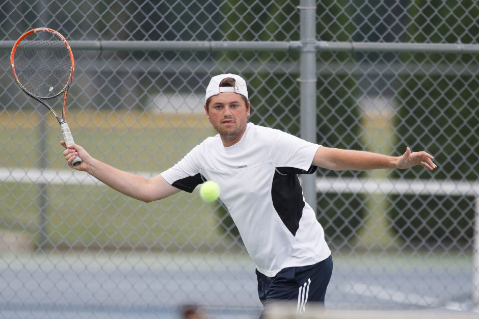 Four-time Wayton Open champion Eric Henne, runner-up in Men's A Singles a year ago, is in the mix for the 2020 Wayton Open, which will be staged for a 13th straight summer, albeit with a modified format, the weekend of August 15-17 at Southington High School. Record-Journal file photo