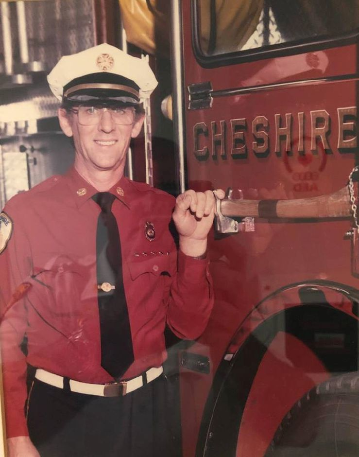Douglas Yocher. | Courtesy of the Cheshire Volunteer Fire Department