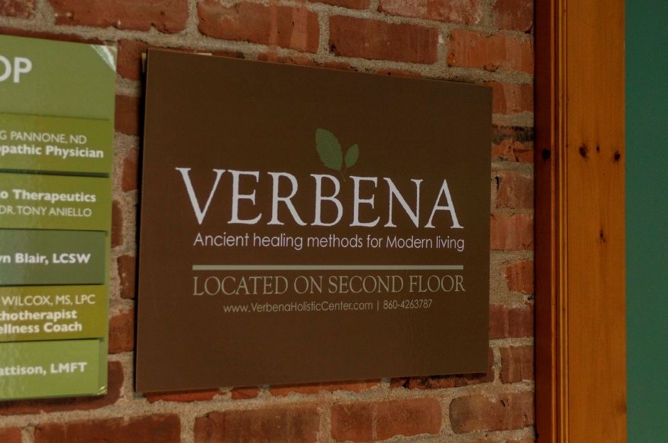Located in Southington, Verbena Holistic Center provides a variety of holistic spa treatments including their Himalayan salt room - at Verbena Holistic Center in Southington on July 25, 2018 | Andrew Baxter, Special to the Record-Journal