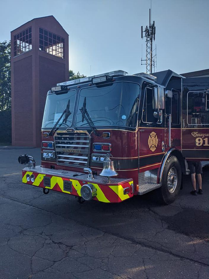 Plainville Fire Department's new Engine 2.