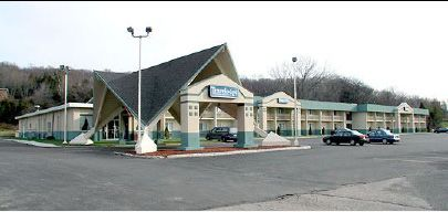 2000s: The unique architecture of the former Howard Johnson