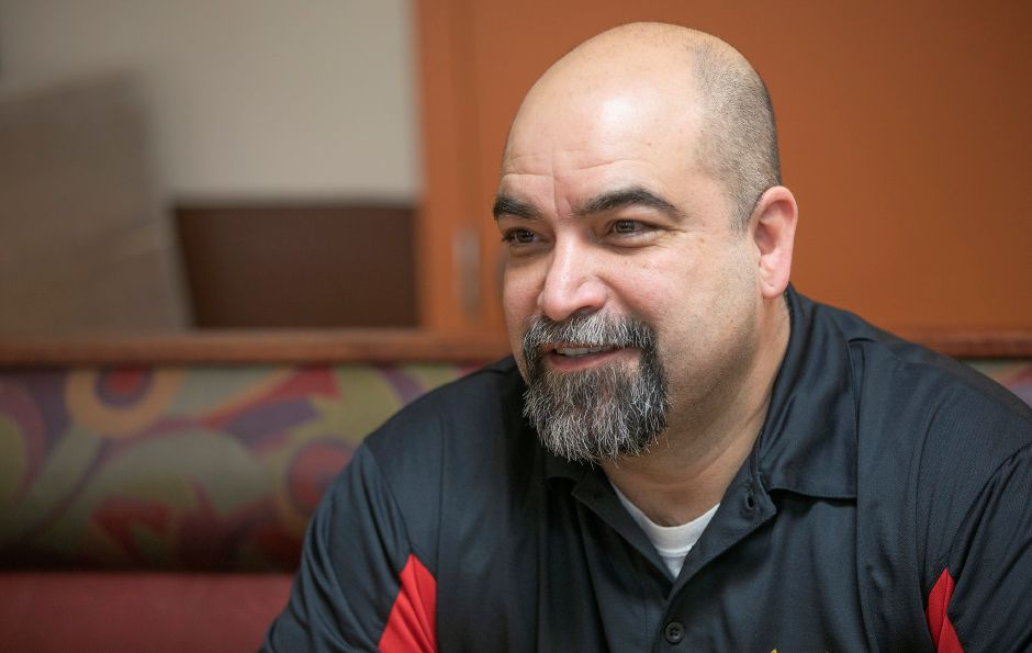Luis Lemus, owner of Tacos Mi Nacho, talks about expanding. Dave Zajac, Record-Journal