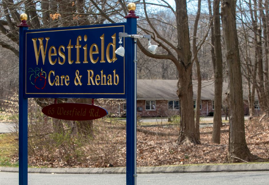 Westfield Rehab Center at 65 Westfield Road in Meriden, is one of the location Connecticut Gov. Ned Lamount has named as a potential sites for nursing home residents with coronavirus to be located on Thursday, April 2, 2020. Aaron Flaum, Record-Journal