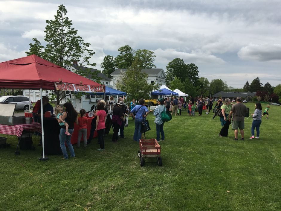 Durham Farmers' Market on opening day 2018. | File photo