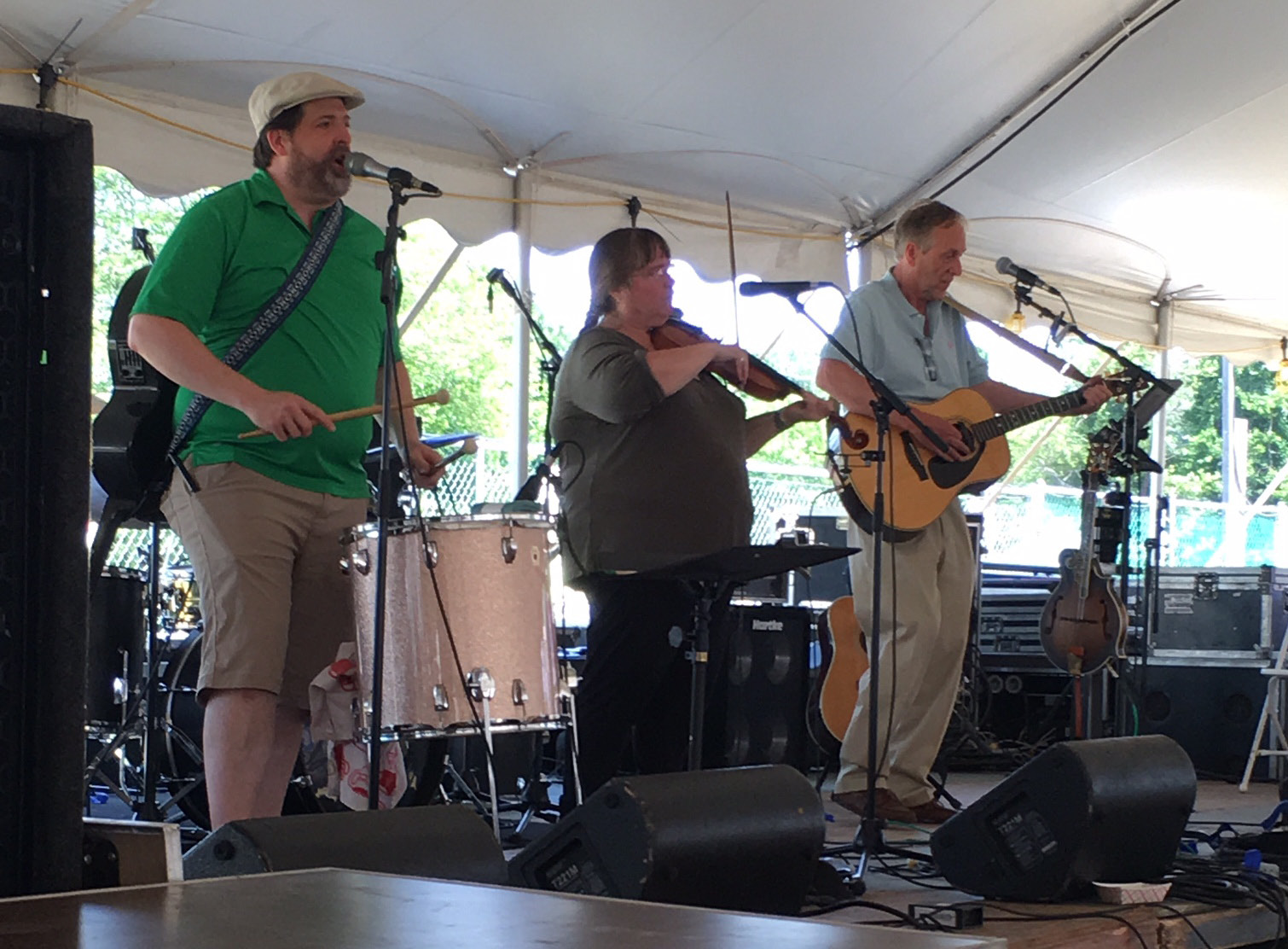 The Coracles perform at the Connecticut Irish Festival in North Haven Sunday. | Nick Carroll, The North Haven Citizen