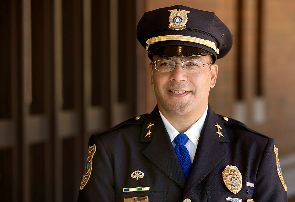 Meriden Police Chief Roberto Rosado reassured residents Thursday after a double shooting Wednesday night on the heels of other recent incidents of gun violence. | File photo, Dave Zajac, Record-Journal