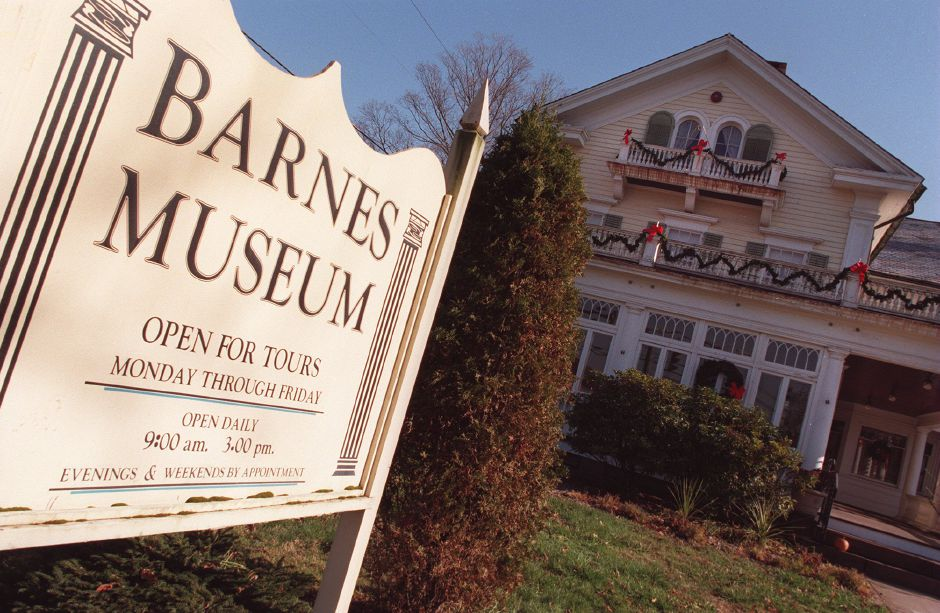 RJ file photo - The Barnes Museum in Southington, Dec. 1998.