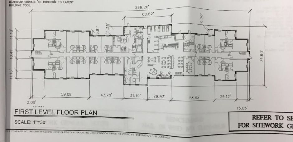 New first floor design for Shield Hotels, 1175 Barnes Road, Wallingford, April 8, 2019. Courtesy of Wallingford Planning and Zoning Dept.