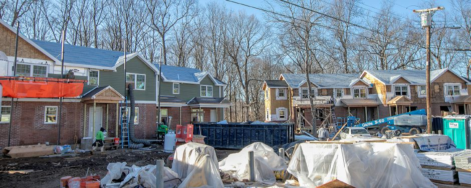Apartments under renovation at Yale Acres in Meriden, Wed., Jan. 29, 2020. Dave Zajac, Record-Journal