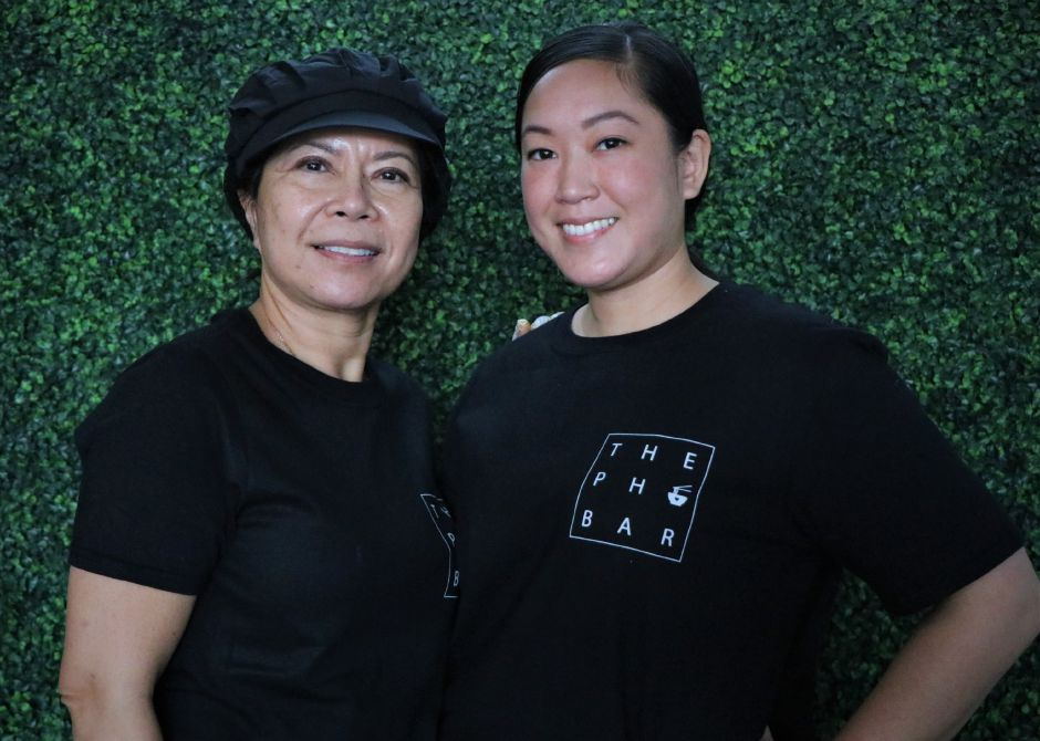 Jessica Rodriguez and her mother, Pathana Savannakhet.