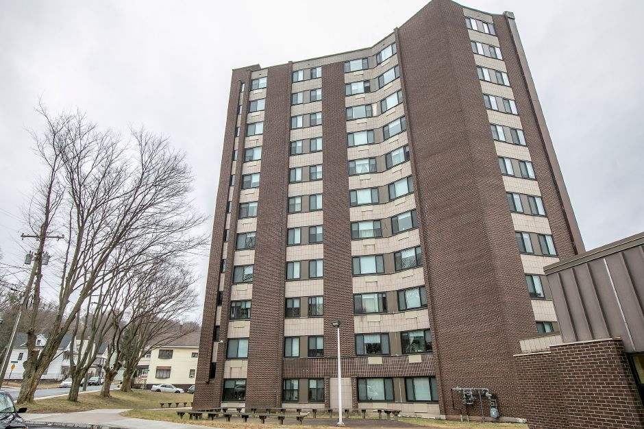 Community Towers in Meriden, Tues., Feb. 18, 2020. The Meriden Housing Authority was recently awarded a $1.2 million grant to make improvements at Community Towers. Dave Zajac, Record-Journal