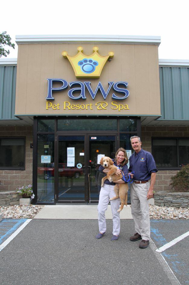 Robin and Joe Whitright have owned Paws Pet Resort & Spa since 2007. Tracey Harrington/Cheshire Herald