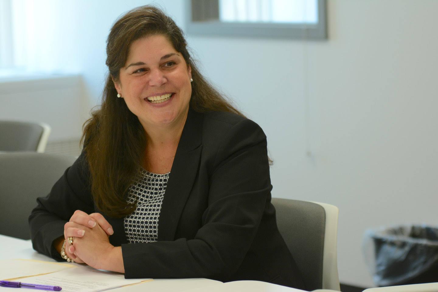 Sen. Dante Bartolomeo at the Record-Journal office on Tuesday, Sept. 13. | Bryan Lipiner, Record-Journal