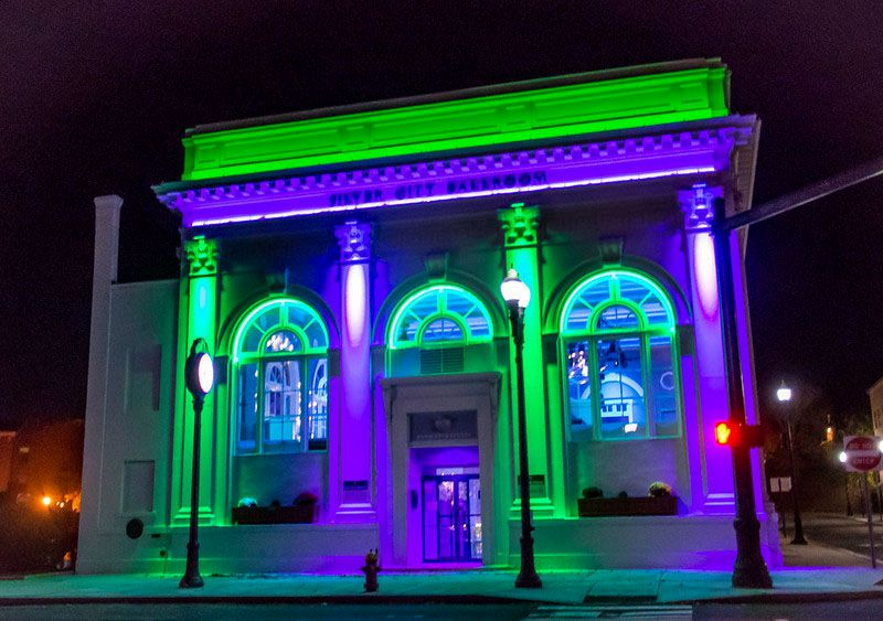 The Silver City Ballroom lights up Colony Street