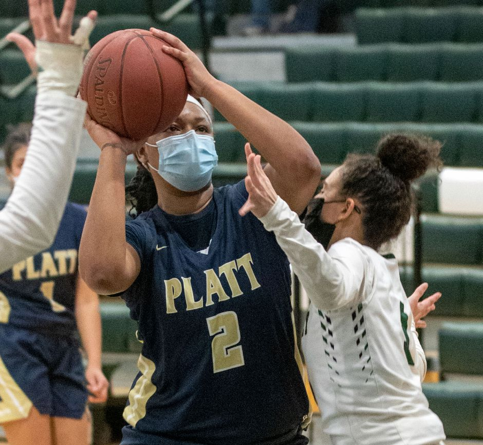 Platt's Ja'Lexia West returns to the All-Record-Journal team after averaging 11 points and nearly 10 rebounds a game for the season. She had three double-doubles on the season.  Aaron Flaum, Record-Journal