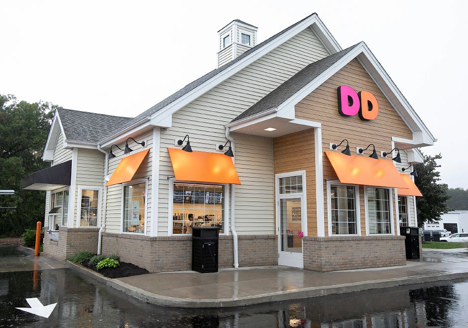 The newly renovated Dunkin