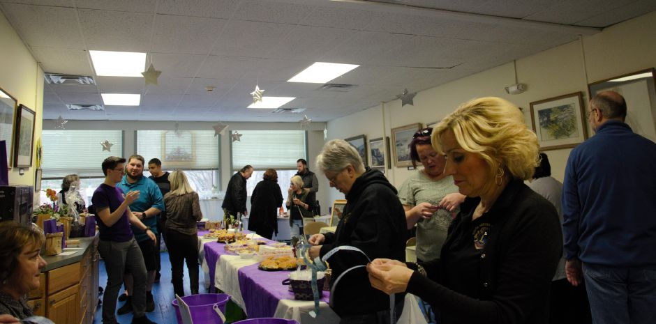 Attendees at Galley 53 and South Meriden Lions Club's 11th annual wine tasting and CHAIR- ity event Friday, April 12th, 2019. | Maxine Philavong, Special to the Record Journal.