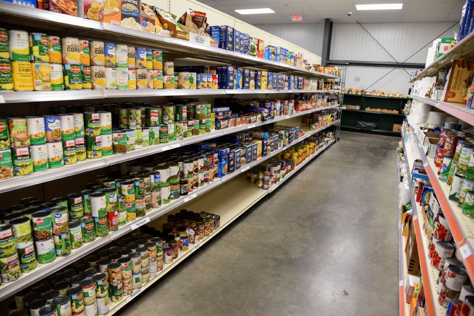 The shelves at the Cheshire Food Pantry have remained stocked in large part due to the generous donation from individuals and companies from around Cheshire and the surrounding area, including Cox Communications, which has donated approximately $50,000 during the course of the pandemic.