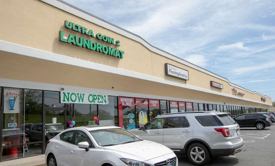 The new Ultra Coin 2 Laundromat, 1118 N. Colony Rd., Wallingford, Tues., May 7, 2019. Dave Zajac, Record-Journal