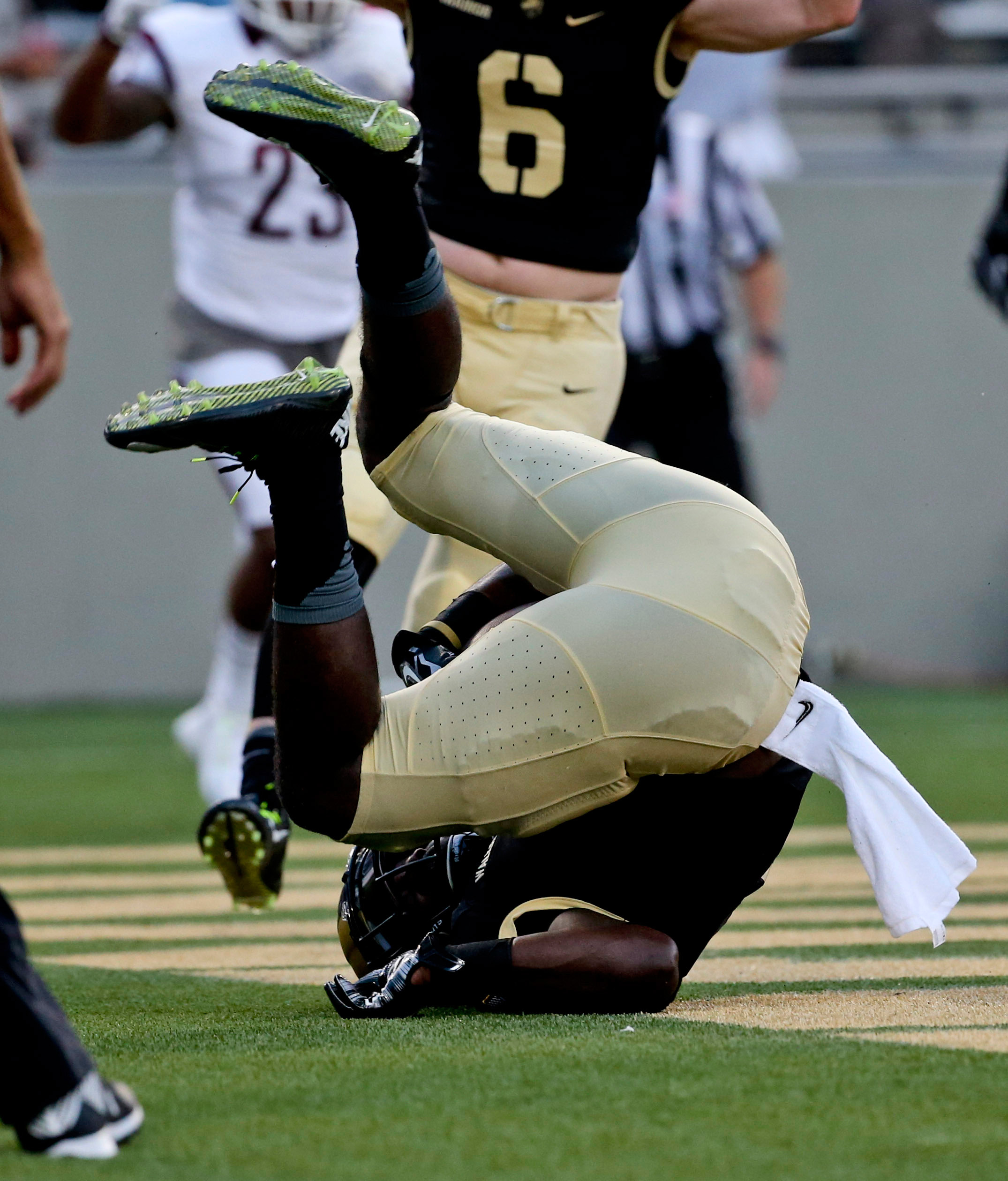 WEST POINT, N.Y. (AP) — Fordham turned a nightmare beginning into a