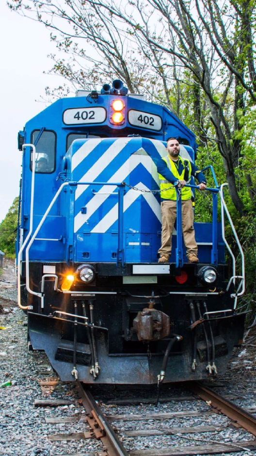 The Hartford At Work >> At Work Train Conductor For The New Hartford Line