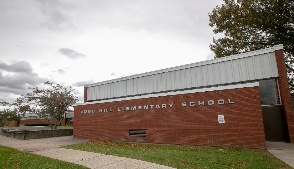 Pond Hill Elementary School, Thurs., Oct. 17, 2019. Dave Zajac, Record-Journal