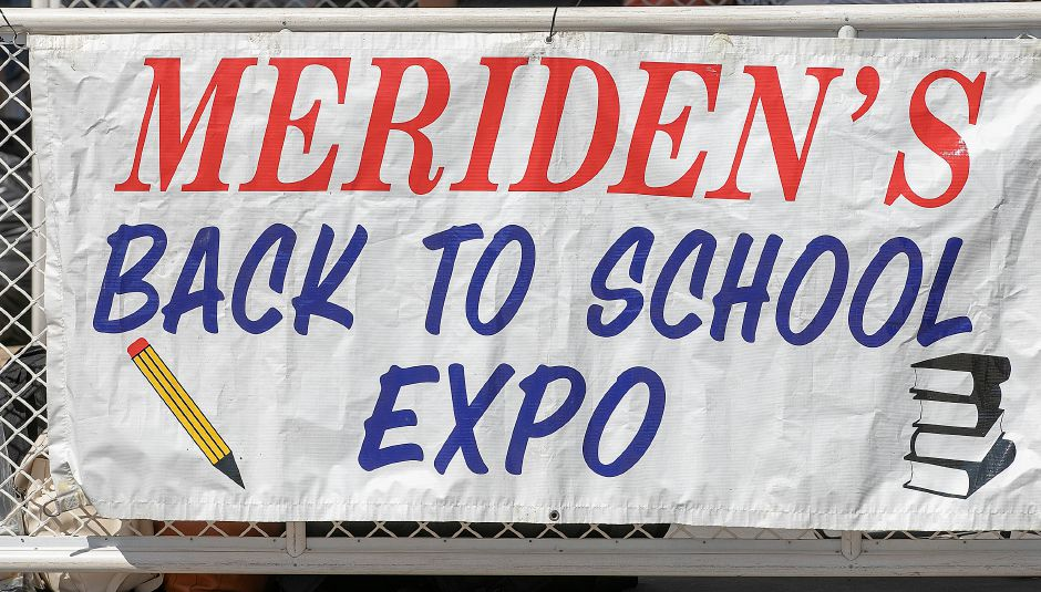 The Meriden Fire Local 1148 annual Back-to-School Expo on the Meriden Green, Tues. Aug. 20, 2019. Dave Zajac, Record-Journal