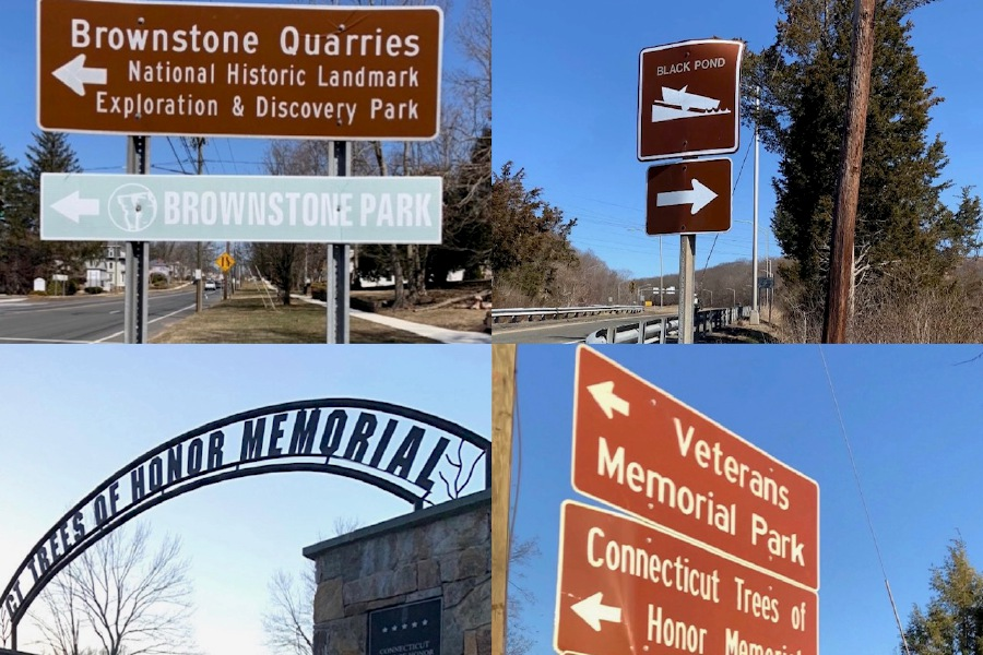 There are plenty of places to check out on list on the brown signs east of Meriden. |Francesca Fontánez, Special to Record-Journal