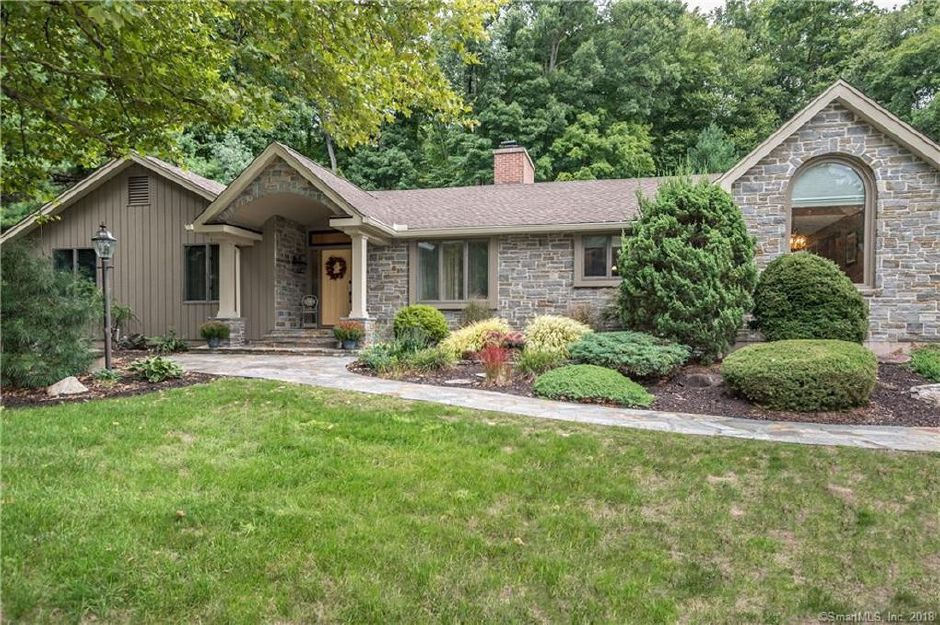 On The Market A Sprawling Ranch On A Quiet Corner In Southington