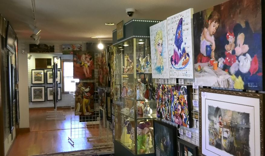 Barker Animation Art Gallery, 1188 Highland Avenue, Cheshire. |Ashley Kus, Record-Journal