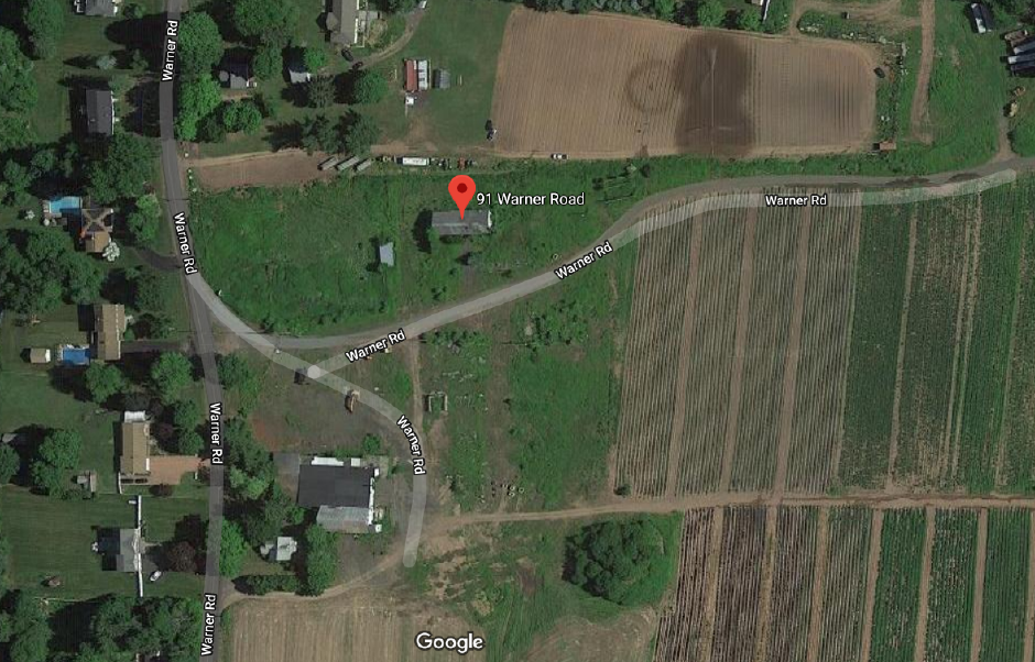 North Haven Fire responded to a structure fire at 91 Warner Rd. Friday evening. | Google Maps