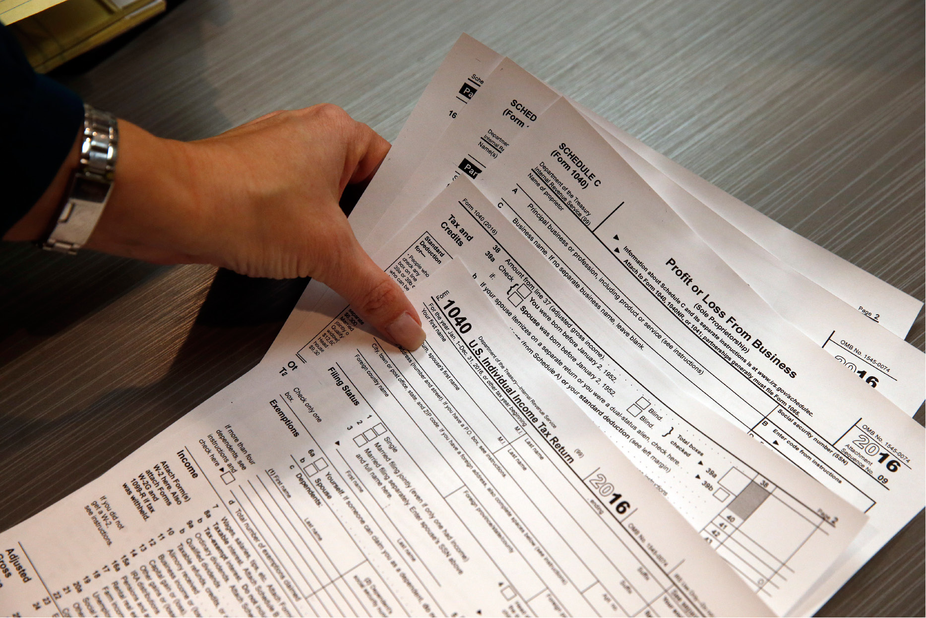 Several Income Tax Preparation Programs Began This Week Offering Help To Seniors