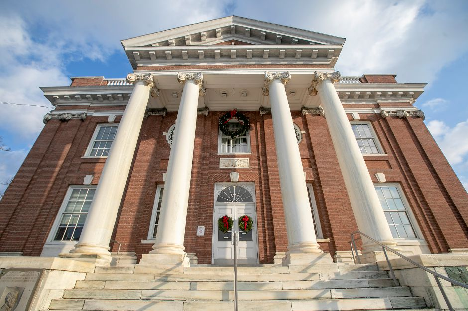Meriden City Hall, Wed., Dec. 18, 2019. Dave Zajac, Record-Journal