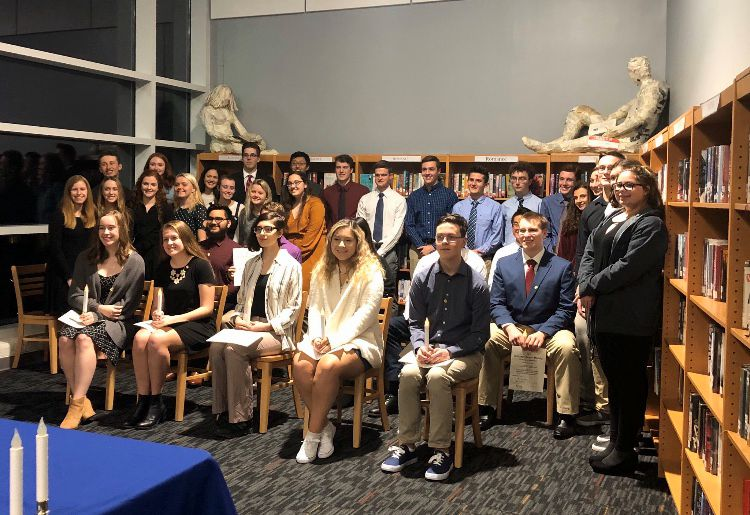 The Berlin High School chapter of the National Honor Society.